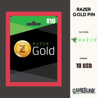$10.00 Razer Gold US Global PIN INSTANT DELIVERY