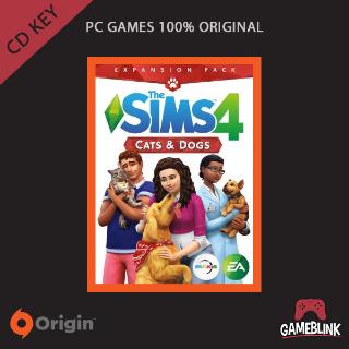 The Sims 4 Cats & Dogs DLC Origin CD Key
