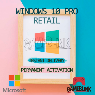 ✅ Windows 10 Pro Retail Key Instant Delivery