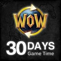 World of Warcraft 30 days Game Time Code - US