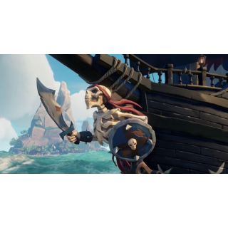 Sea Of Thieves Spinal Figurehead item