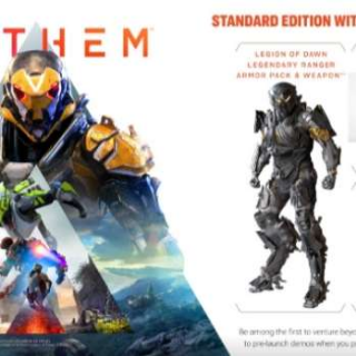 Anthem Legion Of Dawn Keycode