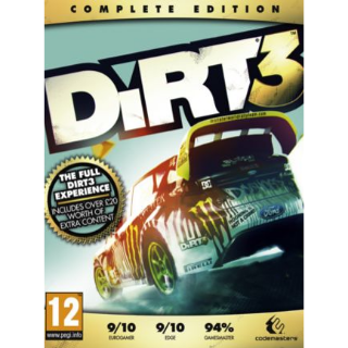 10x Dirt 3 Complete Edition Steam key Global - Instant Delivery