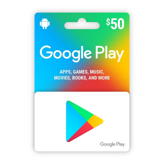 $50 Google Play Gift Card (USA) - Instant Delivery