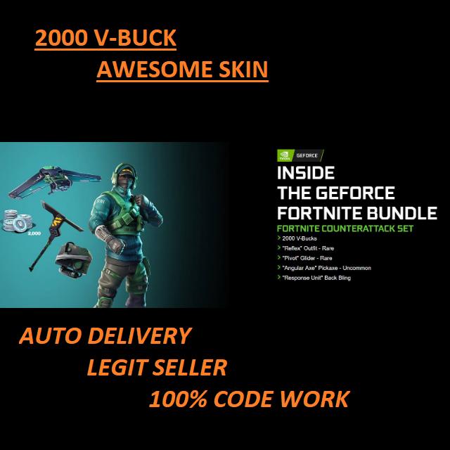 Bundle|Fortnite Counterattack Set - Other - Gameflip