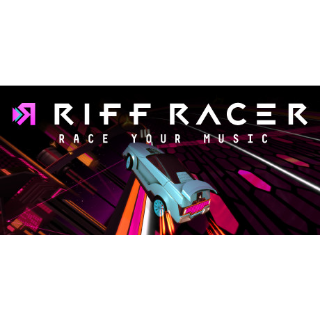 Riff Racer - Race Your Music! [Steam] [PC] [Instant Delivery]