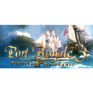 Port Royale 3 + 3 DLC [Steam] [PC] [Instant Delivery]