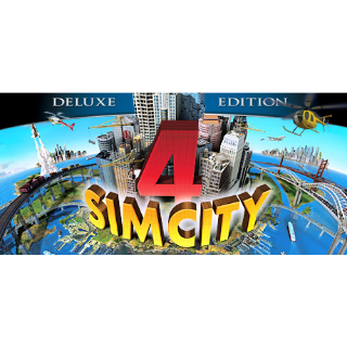 SimCity 4 Deluxe Edition [Steam] [PC] [Instant Delivery]