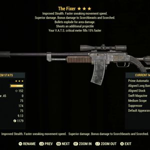Weapon | TSE15 Fixer