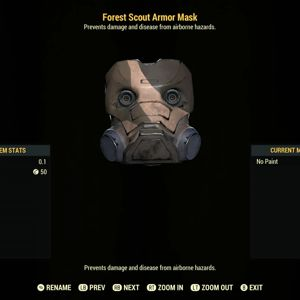 Apparel | Forest Scout Armor Mask