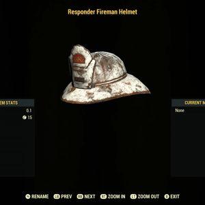 Apparel   Responder Fireman Helmet