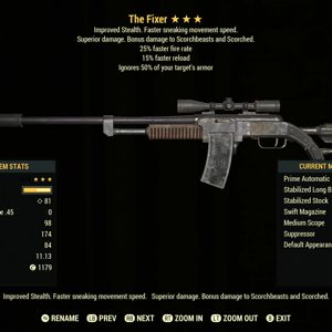 Weapon | AA2515 Fixer