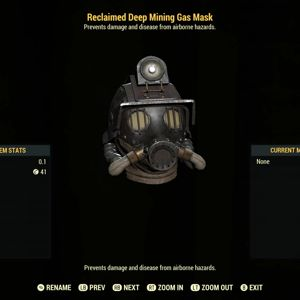 Apparel | Reclaimed Mining Mask