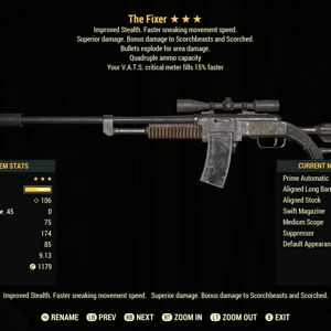 Weapon | QE15 Fixer