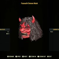 Apparel | Fasnacht Demon Mask