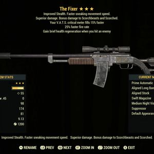 Weapon | V2515 Fixer