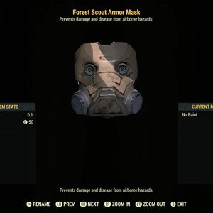 Apparel | Forest Scout Mask