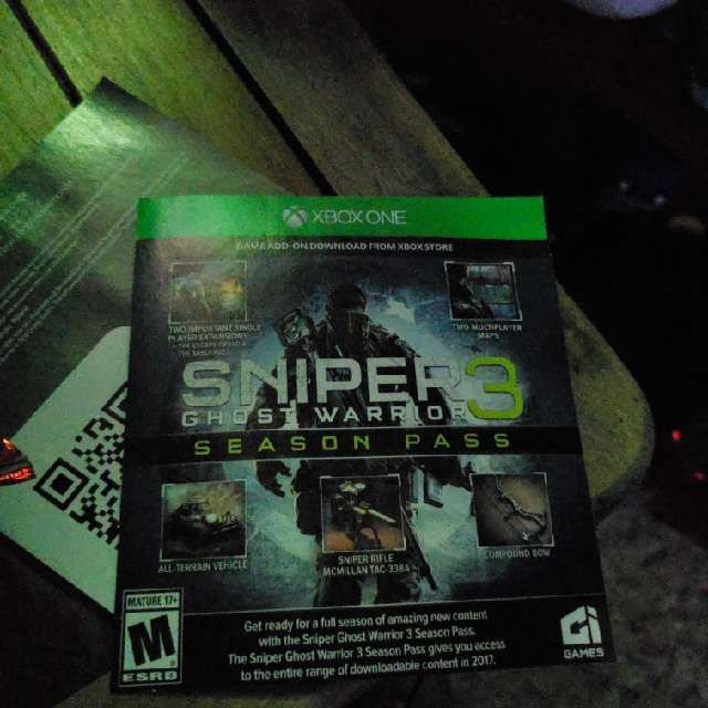 sniper ghost warrior 3 season pass edition xbox one game
