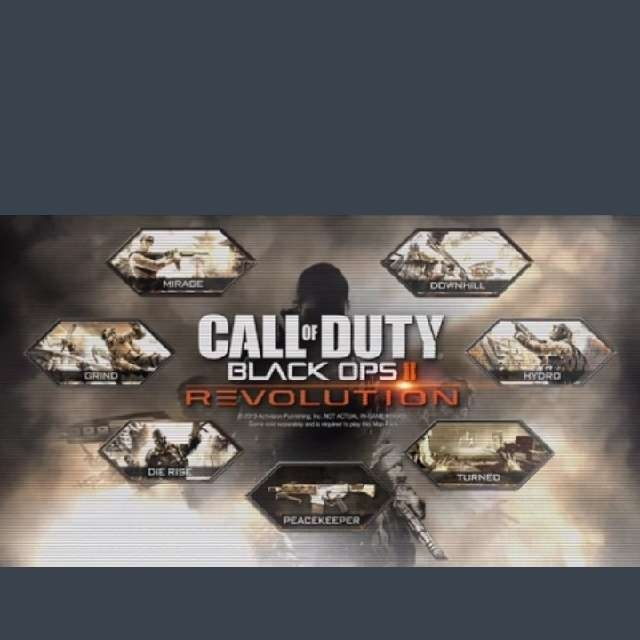 Call Of Duty Black Ops 2 DLC Revolution Map Pack - XBox 360 ... Call Of Duty Black Ops Ii With Revolution Map Pack on