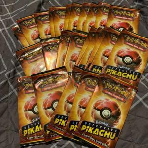 Detective Pikachu Promo packs 25 count