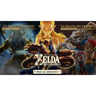 The Legend of Zelda Breath of the Wild EXPANSION PACK DLC 1 AND 2 [Region locked: ITALY]