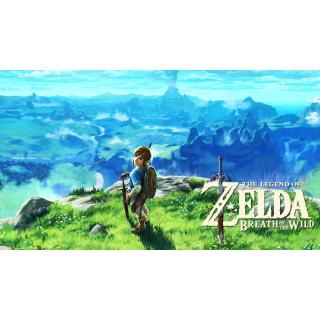 Nintendo Switch: The Legend of Zelda Breath of the Wild [Region locked: ITALY]