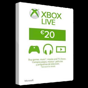 20 00 EUR Microsoft gift card (EUROPE) - Xbox Gift Card Gift