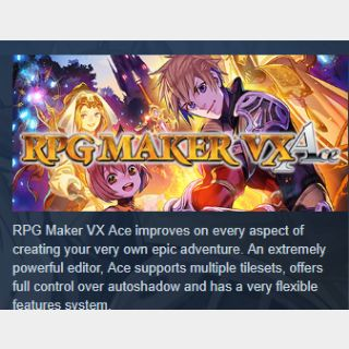 RPG Maker VX Ace DLC Bundle|PC Steam Key|Instant & Automatic Delivery
