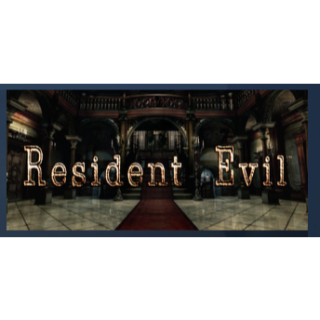 Resident Evil / biohazard HD REMASTER PC Steam Key Instant & Automatic Delivery