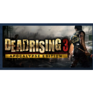 Dead Rising 3 - Apocalypse Edition|PC Steam Key|Instant & Automatic Delivery