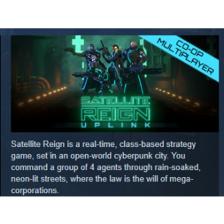 Satellite Reign PC Steam Key Instant & Automatic Delivery