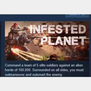 Infested Planet+Infested Planet - Trickster's Arsenal DLC|PC Steam Key|Instant & Automatic Delivery