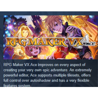 RPG Maker VX Ace DLC Bundle|PC Steam Key|Instant & Automatic Delivery