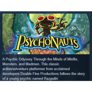 Psychonauts|PC Steam Key|Instant & Automatic Delivery