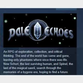 Pale Echoes|PC Steam Key|Instant & Automatic Delivery