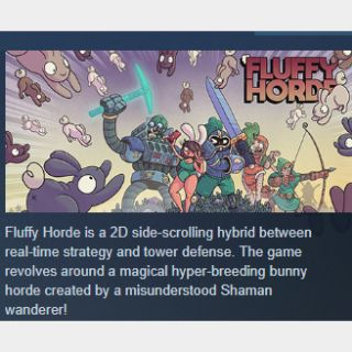 Fluffy Horde|PC Steam Key|Instant & Automatic Delivery