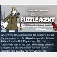Puzzle Agent+Puzzle Agent 2 PC Steam Key Instant & Automatic Delivery