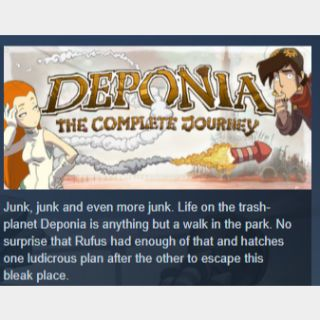 Deponia: The Complete Journey |PC Steam Key|Instant & Automatic Delivery