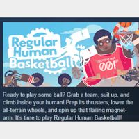 Regular Human Basketball|PC Steam Key|Instant & Automatic Delivery