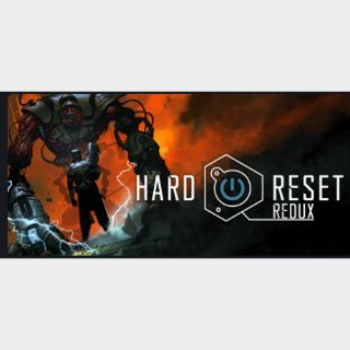 Hard Reset Redux|PC Steam Key|Instant & Automatic Delivery