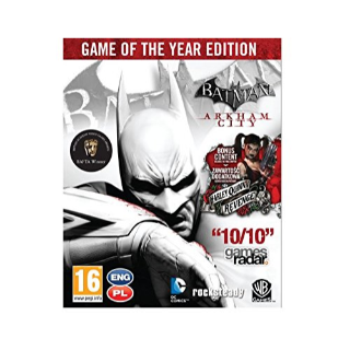 ⭐ɪɴ𝐬ᴛᴀɴᴛ!⭐ Batman: Arkham City - Game of the Year Edition Steam CD Key