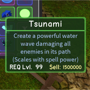Other Dq Tsunami Mage Spell In Game Items Gameflip