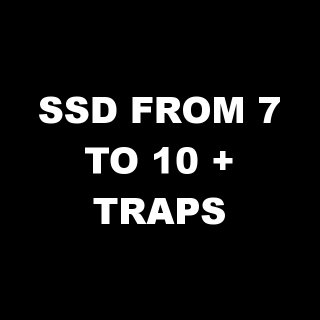 I will help you to defend SSD from 7 to 10 + traps in every defence