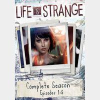 Life is Strange Complete Season (Episodes 1-5)  - STEAM KEY