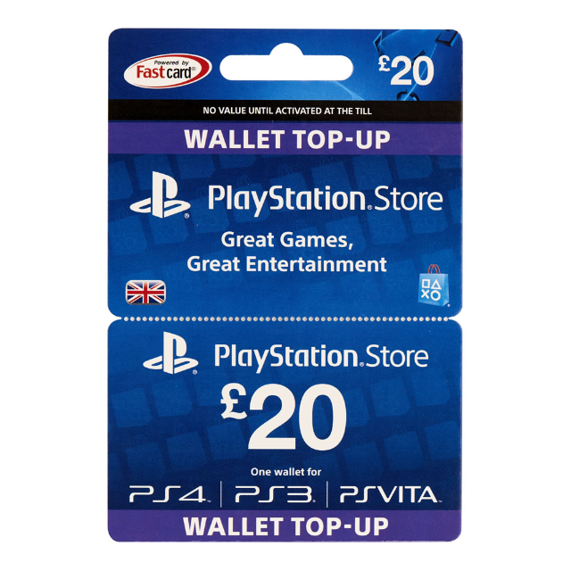 20 Ps4 Gift Card Playstation Store Gift Cards Gameflip