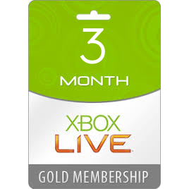 Xbox Live Gold 3 Month Global