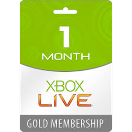 Xbox Live Gold 1 Month Global