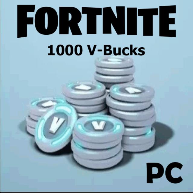 Fortnite 1000 V Bucks Other Gift Cards Gameflip
