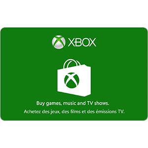 $15.00 CAD Xbox Gift Card