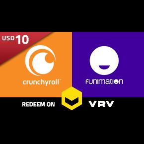 $10.00 Crunchyroll Gift Card